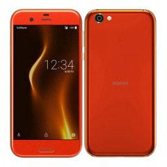 【SIMロック解除済】Softbank AQUOS R 605SH Blaze Orange