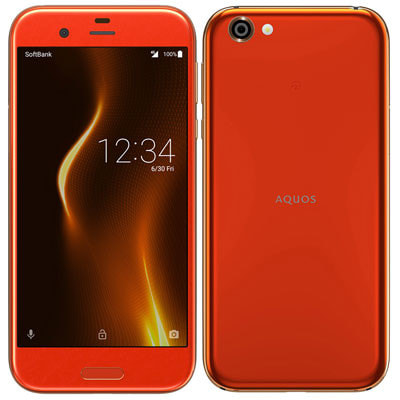 イオシス|【SIMロック解除済】Softbank AQUOS R 605SH Blaze Orange