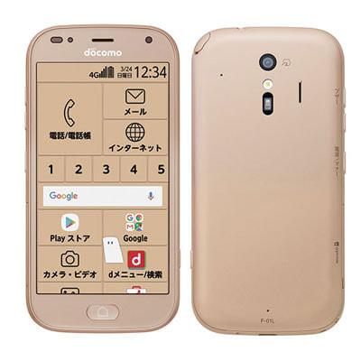 イオシス|【ネットワーク利用制限▲】docomo らくらくスマートフォン me F-01L ゴールド