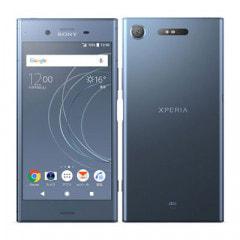 【ネットワーク利用制限▲】au Sony Xperia XZ1 SOV36 Moonlit Blue