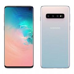 Samsung Galaxy S10 Single-SIM SM-G973C【8GB 128GB Prism White 楽天版SIMフリー】