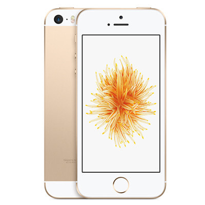 イオシス|【SIMロック解除済】docomo iPhoneSE 128GB A1723 (MP882J/A) ゴールド