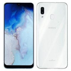 【SIMロック解除済】au Galaxy A30 SCV43 ホワイト