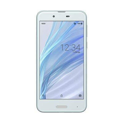 イオシス 【SIMロック解除済】 UQ mobile AQUOS sense SHV40 Airy Blue