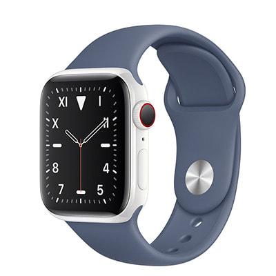 イオシス|Apple Watch Edition Series5 40mm GPS+Cellularモデル MWQF2J/A+MX0L2FE/A A2156【ホワイトセラミックケース/アラスカンブルースポーツバンド】