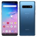 【SIMロック解除済】【ネットワーク利用制限▲】docomo Galaxy S10 SC-03L プリズムブルー