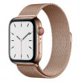 Apple Watch Series5 44mm GPS+Cellularモデル MWWJ2J/A A2157【ゴールドステンレススチールケース/ゴールドミラネーゼループ】