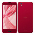 au AQUOS sense SHV40 Noble Red