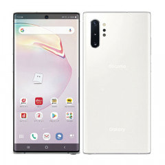 【ネットワーク利用制限▲】docomo Galaxy Note10+ (Plus) SC-01M Aura White