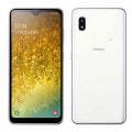 【SIMロック解除済】au Galaxy A20 SCV46 ホワイト