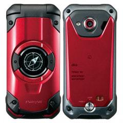 【SIMロック解除済】au TORQUE X01 KYF33 RED