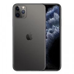 【ネットワーク利用制限▲】SoftBank iPhone11 Pro Max A2218 (MWHJ2J/A) 256GB スペースグレイ