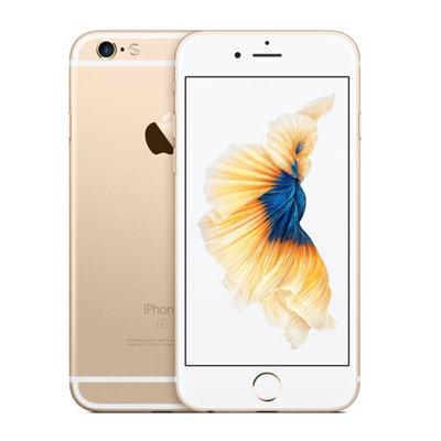 イオシス|【SIMロック解除済】 docomo iPhone6s 128GB A1688 (NKQV2J/A) ゴールド