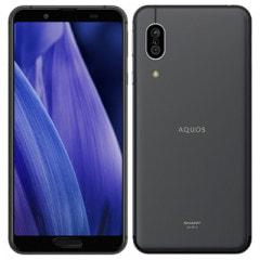 AQUOS sense3 SH-M12 ブラック 【国内版SIMフリー】