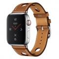Apple Watch Hermes Series4 44mm GPS+Cellularモデル MU9E2J/A A2008【ステンレススチールケース/シンプルトゥールラリー ヴォー・グレイン・バレニア(フォーヴ)レザーストラップ】