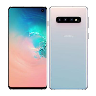イオシス 【SIMロック解除済】au Galaxy S10 SCV41 プリズムホワイト