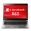 【Refreshed PC】dynabook R63/U【Core i5(2.4GHz)/4GB/128GB SSD/Win10Pro】