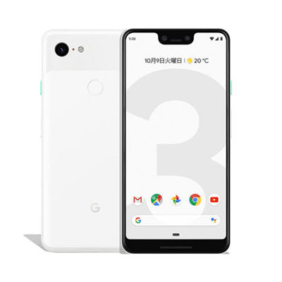 イオシス|【SIMロック解除済】 docomo Google Pixel3 XL G013D [Clearly  White 128GB]