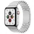 Apple Watch Series5 44mm GPS+Cellularモデル MWR32J/A+MUHL2FE/A A2157【ステンレススチールケース/シルバーリンクブレスレット】
