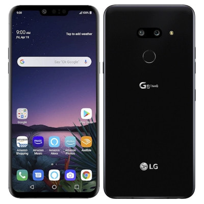 イオシス|LG G8 ThinQ LM-G820UM  [128GB New Aurora Black 海外版 SIMフリー]