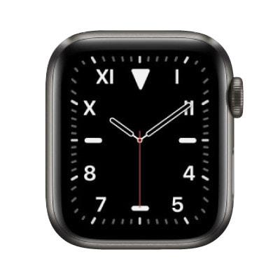 イオシス|Apple Watch Edition Series5 40mm GPS+Cellularモデル MWQD2J/A+MWRF2FE/A A2156【スペースブラックチタニウムケース/ブラックモダンバックル】