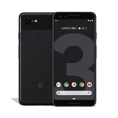 イオシス|【SIMロック解除済】【ネットワーク利用制限▲】 Softbank Google Pixel3 G013B [Just Black 128GB]