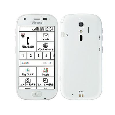イオシス|【SIMロック解除済】docomo らくらくスマートフォン4 F-04J ホワイト