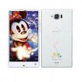 【SIMロック解除済】Disney Mobile on docomo SH-02G Sparkling White