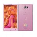 【SIMロック解除済】Disney Mobile on docomo SH-02G Light Pink