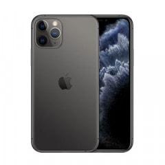 【ネットワーク利用制限▲】【SIMロック解除済】au iPhone11 Pro A2215 (MWC22J/A) 64GB スペースグレイ