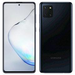 Samsung Galaxy Note10 Lite Dual-SIM SM-N770FD【Black 8GB 128GB 海外版 SIMフリー】【ACアダプタ欠品】