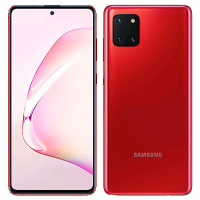 イオシス|Samsung Galaxy Note10 Lite Dual-SIM SM-N770FD【Aura Red 8GB 128GB 海外版 SIMフリー】【ACアダプタ欠品】