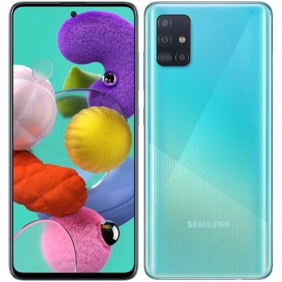 イオシス|Samsung Galaxy A51 Dual-SIM SM-A515FD【Prism Crush Blue  6GB 128GB 海外版 SIMフリー】