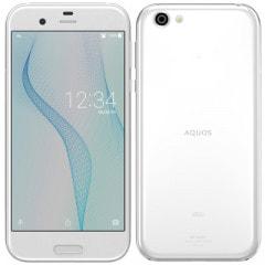 【SIMロック解除済】au AQUOS R SHV39 ジルコニアホワイト