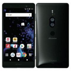 【SIMロック解除済】【ネットワーク利用制限▲】docomo Sony Xperia XZ2 Premium SO-04K Chrome Black