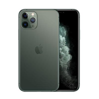 イオシス|【SIMロック解除済】【ネットワーク利用制限▲】au iPhone11 Pro A2215 (MWCC2J/A) 256GB ミッドナイトグリーン