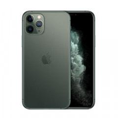【SIMロック解除済】【ネットワーク利用制限▲】SoftBank iPhone11 Pro A2218 (MWCC2J/A) 256GB ミッドナイトグリーン