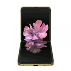 Samsung Galaxy Z Flip SM-F700FD Mirror Gold【8GB 256GB 海外版 SIMフリー】