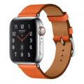 Apple Watch Hermes Series5 40mm GPS+Cellularモデル MWQJ2J/A+MTQ72FE/A A2157【ステンレススチールケース/シンプルトゥール ヴォー・エプソン(フー)レザーストラップ】
