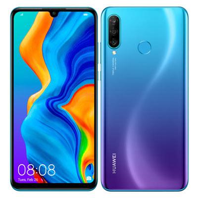 イオシス|【ネットワーク利用制限▲】Y!mobile HUAWEI P30 lite MAR-LX2J Peacock Blue