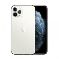 【ネットワーク利用制限▲】【SIMロック解除済】au  iPhone11 Pro A2215 (MWC82J/A) 256GB シルバー