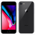 【SIMロック解除済】au iPhone8 64GB A1906 (NQ782J/A) スペースグレイ