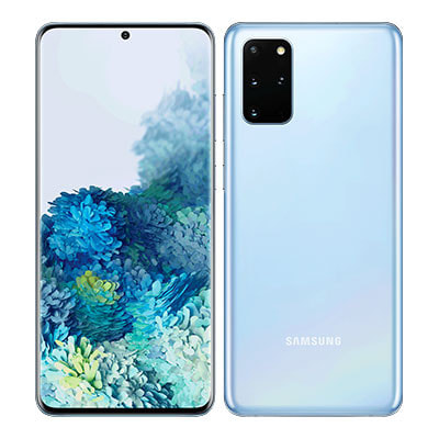 イオシス|Samsung Galaxy S20+ (Plus) 4G Dual-SIM SM-G985FD【Cloud Blue 8GB 128GB 海外版 SIMフリー】【ACアダプタ欠品】