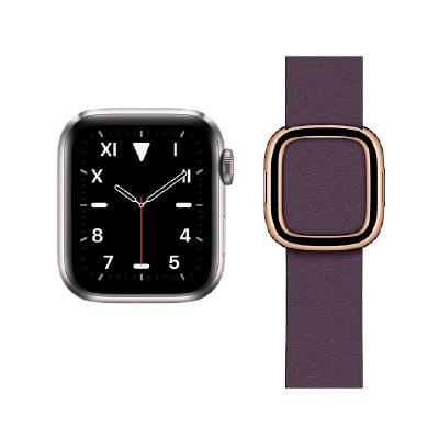 イオシス|Apple Watch Edition Series5 40mm GPS+Cellularモデル MWQE2J/A+MWRK2FE/A A2156【チタニウムケース/オウバジーンモダンバックル】