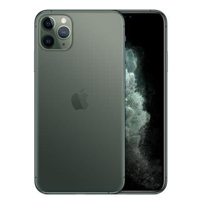 イオシス|【SIMロック解除済】SoftBank iPhone11 Pro Max A2218 (MWHR2J/A) 256GB ミッドナイトグリーン
