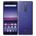 【SIMロック解除済】【ネットワーク利用制限▲】docomo Xperia1 SO-03L Purple