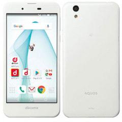 【SIMロック解除済】docomo AQUOS PHONE EVER SH-02J Pure White