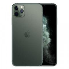 【SIMロック解除済】【ネットワーク利用制限▲】docomo iPhone11 Pro Max A2218 (MWHR2J/A) 512GB ミッドナイトグリーン