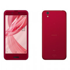 【SIMロック解除済】au AQUOS sense SHV40 Noble Red
