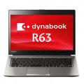 【再生品】dynabook R63/M PR63MTA4447QD21【Core i5(1.6GHz)/8GB/256GB SSD/Win10Pro/Office】